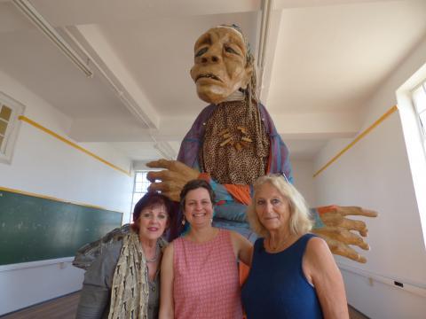 Sue, Aja and Prof Jane